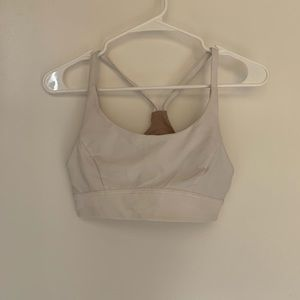 Lululemon Train Times Bra White Size 6
